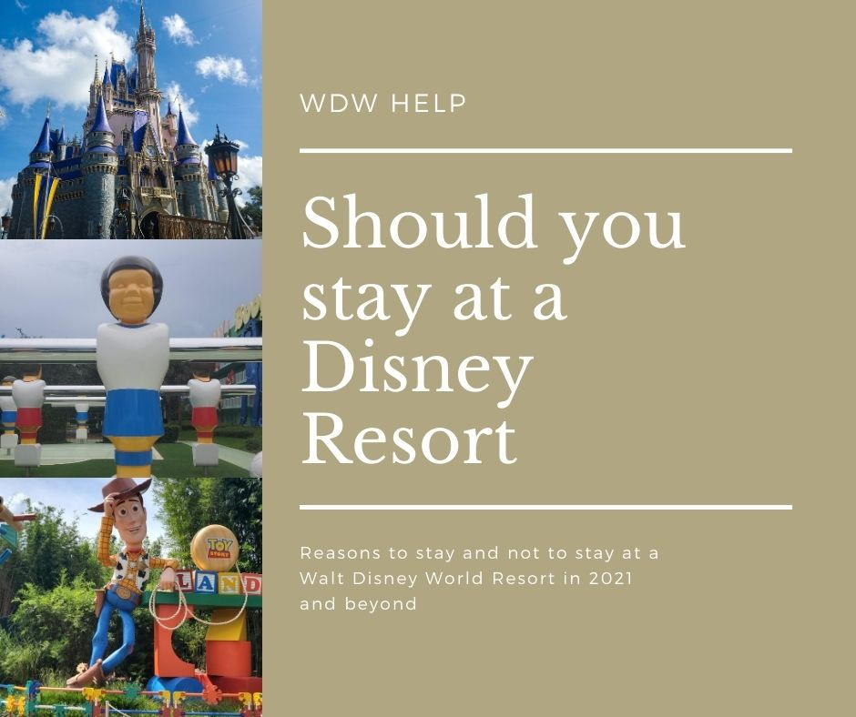Should you stay at a Walt Disney World Resort