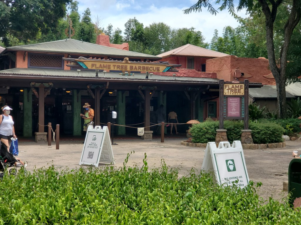 Animal Kingdom, Disney World, Walt Disney World, Theme Park, Florida, Orlando, Family Vacation, WDW, Flame Tree Barbecue, BBQ, Quick Service, Disney Dining Plan, DDP