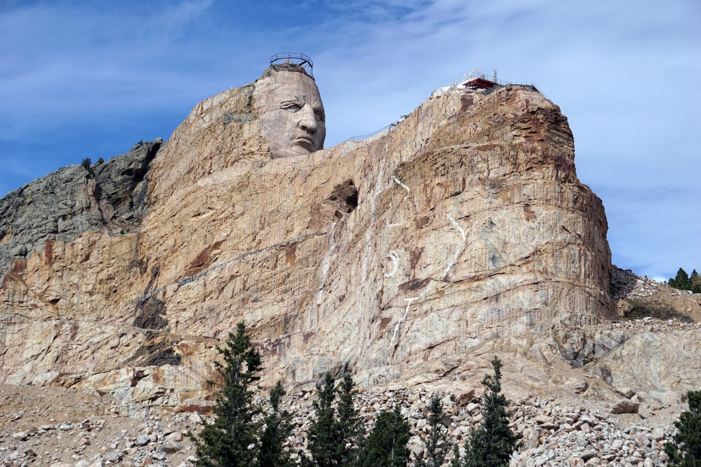 Crazy Horse, South Dakota,