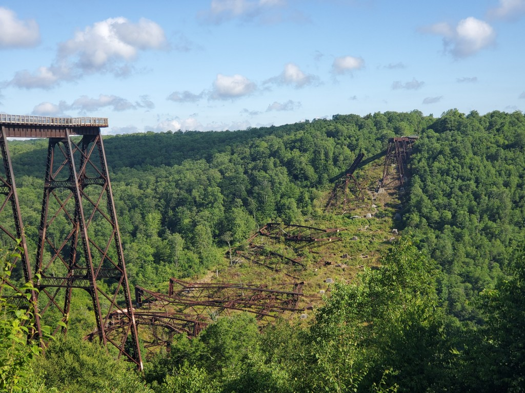 Kinzua Bridge, MT Jewett, PA,