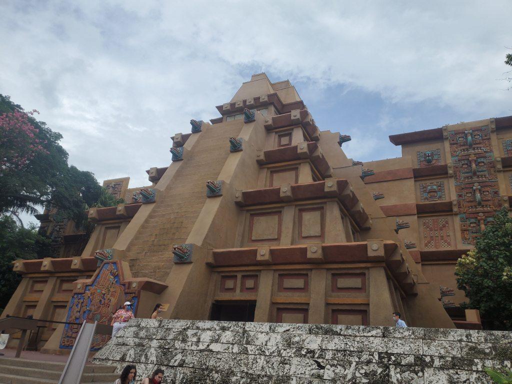 Mexico Pavilion, Mesoamerican Pyramid, EPCOT, Walt Disney World, Disney, WDW, World Showcase