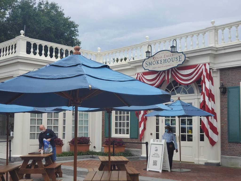 Regal Eagle Smokehouse, American Pavilion, EPCOT, Walt Disney World, Disney, WDW, World Showcase