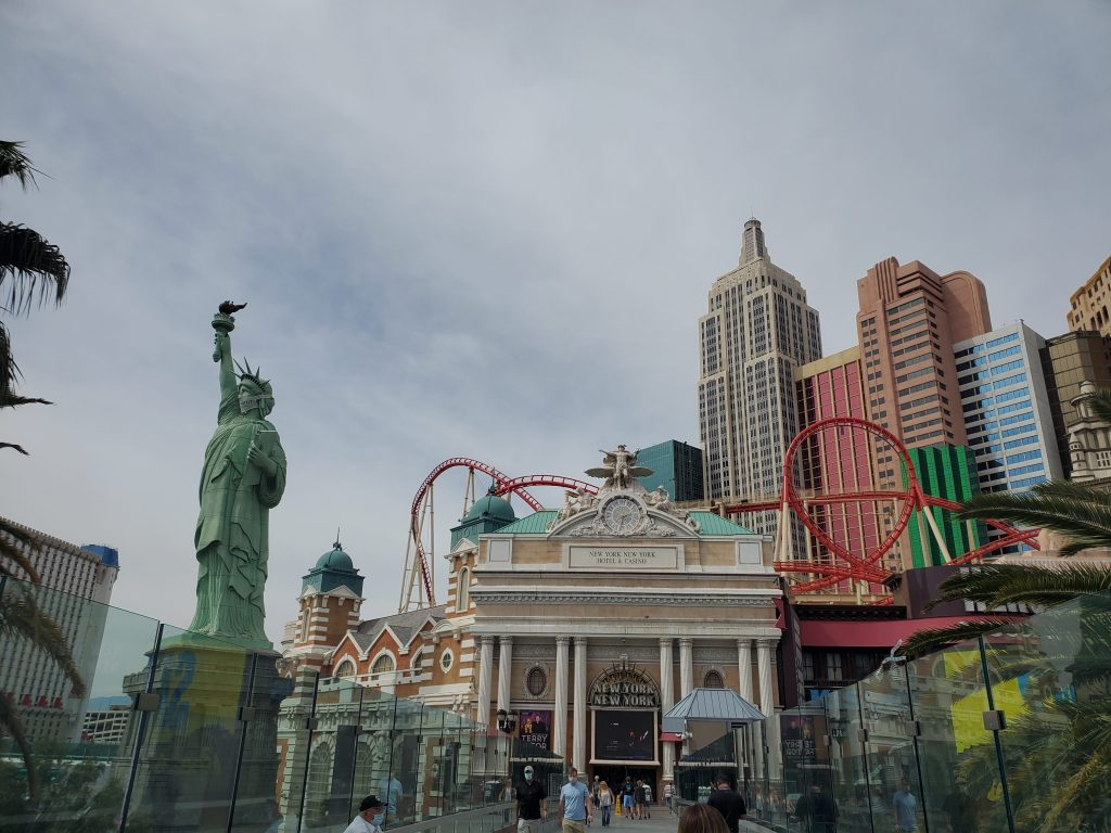 New York New York Hotel and Casino Las Vegas,