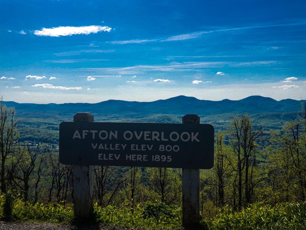 Afton Overlook, Blue Ridge Parkway, Virginia, Road Trip