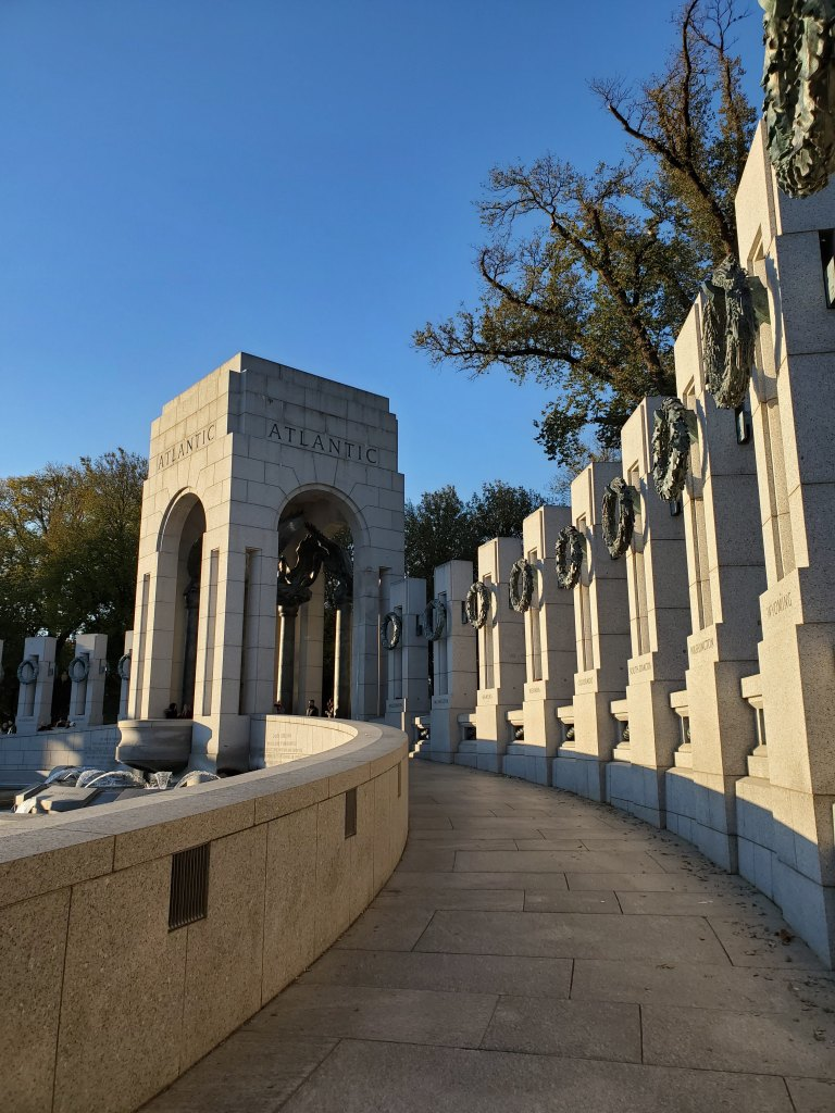 World War II Memorial, WWII, Washington DC,
