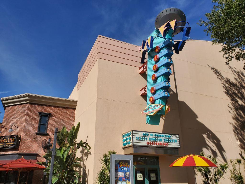 Hollywood Studios, WDW, Walt Disney World, Sci Fi Dine in