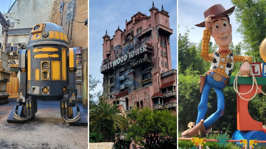 Hollywood Studios Lands, WDW, Walt Disney World,