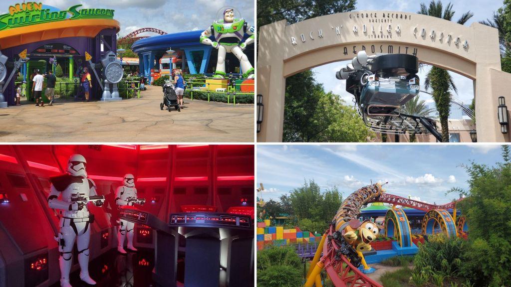 Hollywood Studios, WDW, Walt Disney World, Rides, Rock 'n' Roller Coaster, Slinky Dog Dash