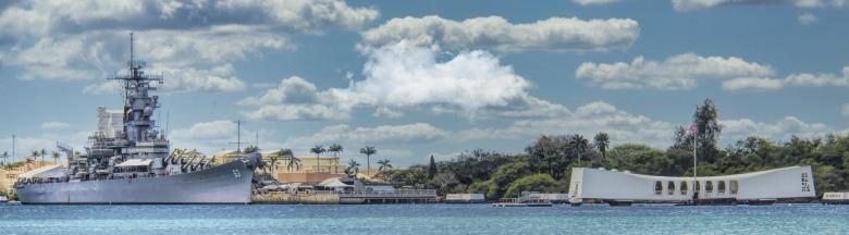 USS Arizona Memorial, Pearl Harbor, Hawaii, WWII Memorial
