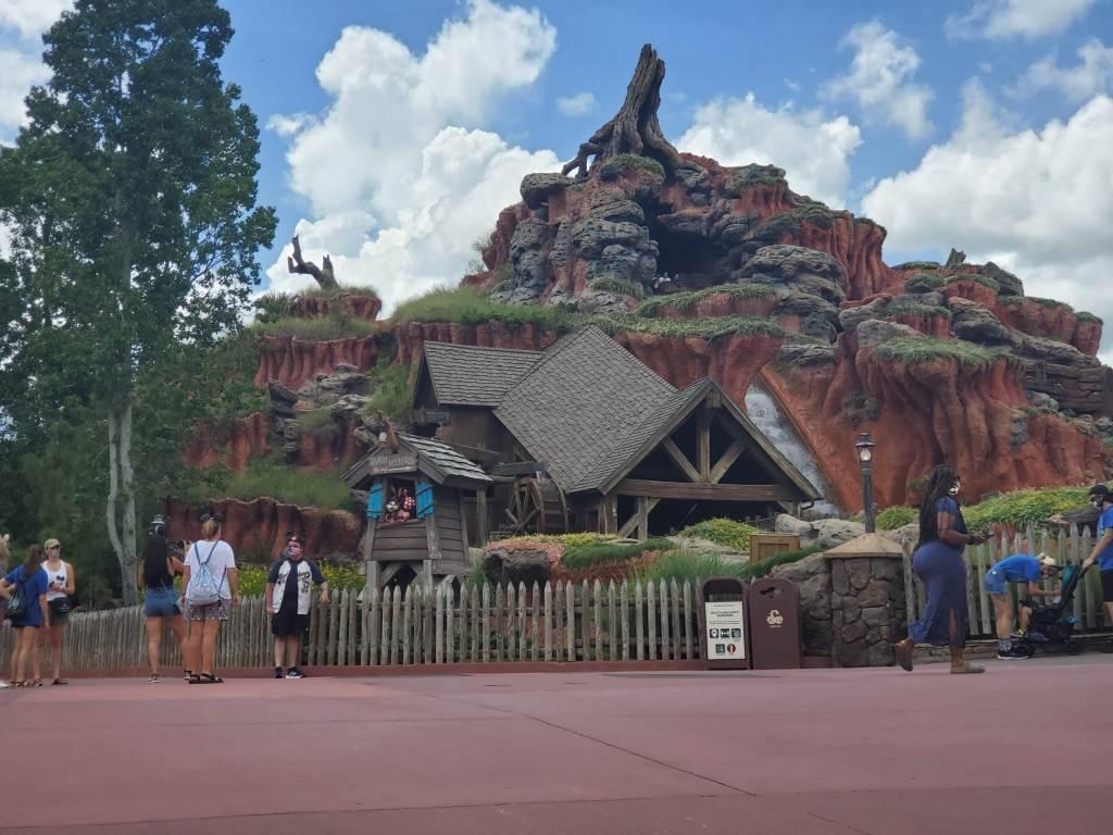 Splash Mountain, Magic Kingdom, WDW, Walt Disney World