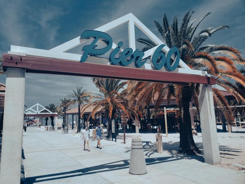 Pier 60, Clearwater, Florida, Beach,