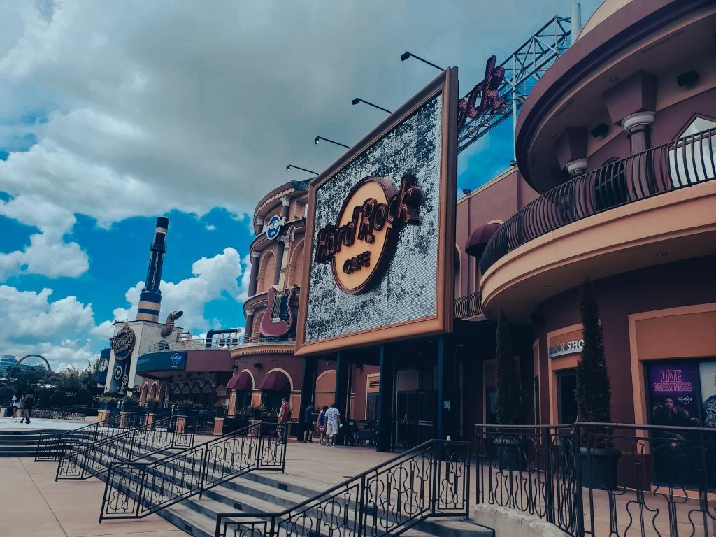 Hard Rock Café Orlando, Worlds largest Hard Rock, CityWalk, Universal Orlando,