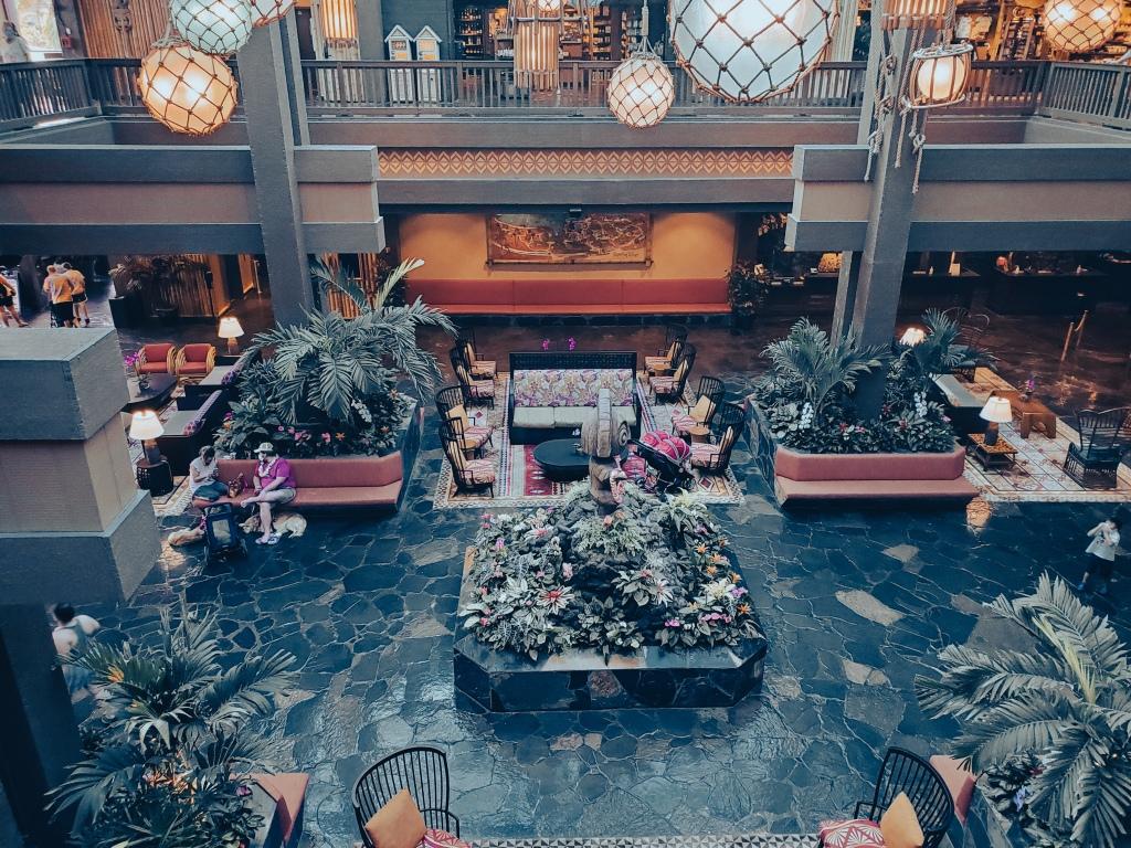 Disney's Polynesian Resort, Lobby