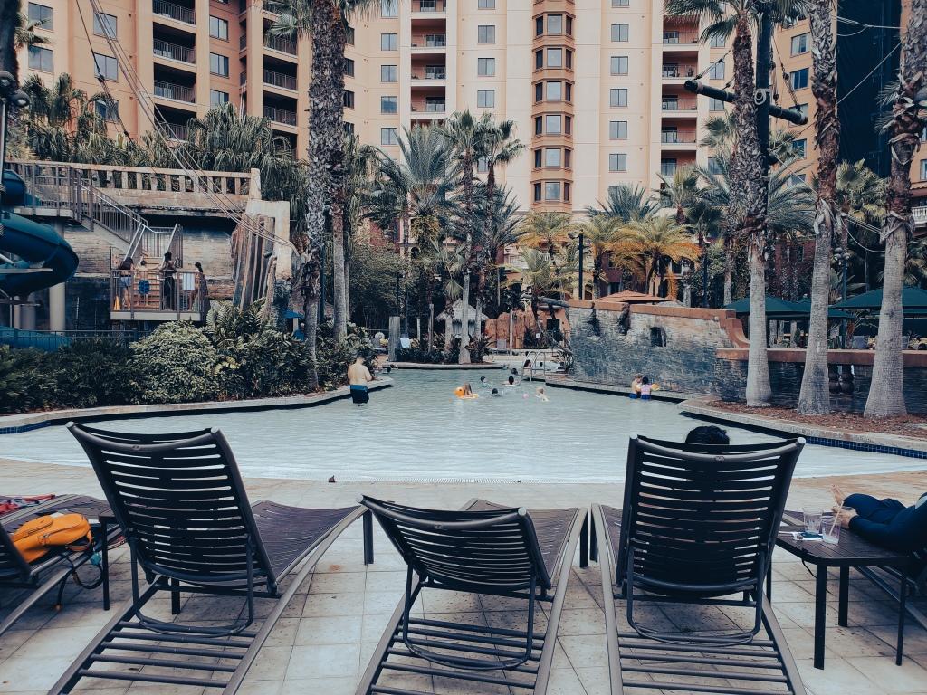 Pirate Pool Slide Wyndham Grand Orlando Bonnet Creek Resort, Pool, Pool side,