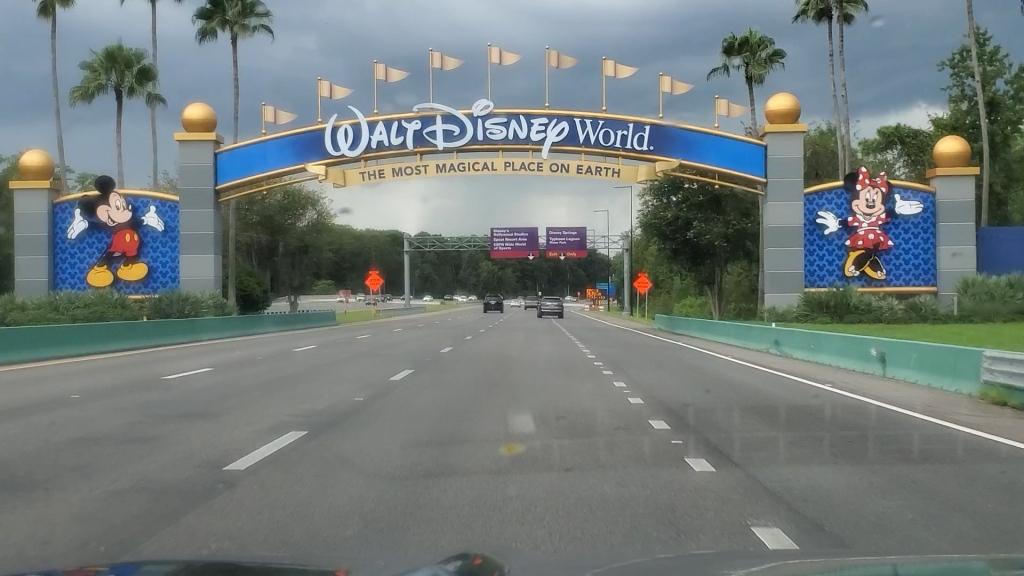WDW Sign, Walt Disney World Sign